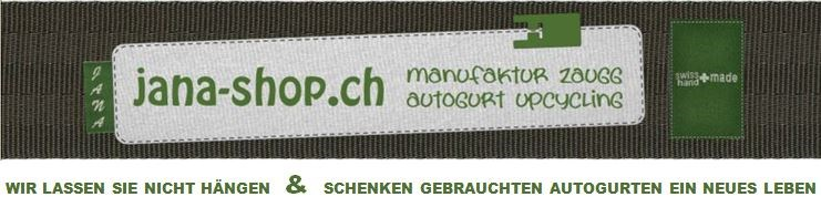 jana-shop.ch  -  autogurt upcycling
